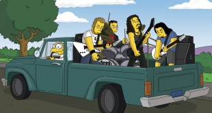 THE SIMPSONS: Pictured: Special guest Metallica.  THE SIMPSONS™ and ©2006 TCFFC ALL RIGHTS RESERVED.  ©2006FOX BROADCASTING  CR:FOX מטאליקה מתארחים במשפחת סימפסון, באדיבות yes
